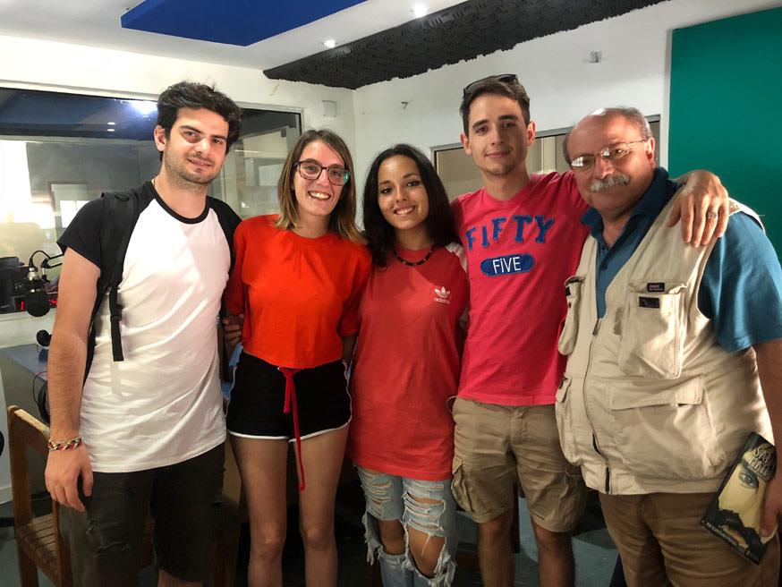 intervista radio nacional uruguay gutierrez clara our voice almendras