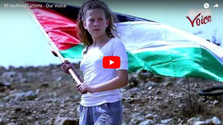 #FreeAhedTamimi - Our Voice