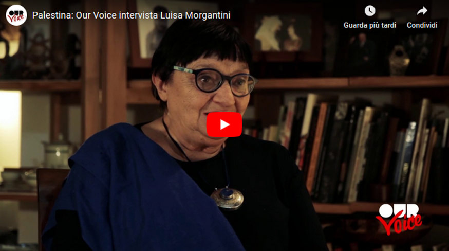 Palestina: Our Voice intervista Luisa Morgantini