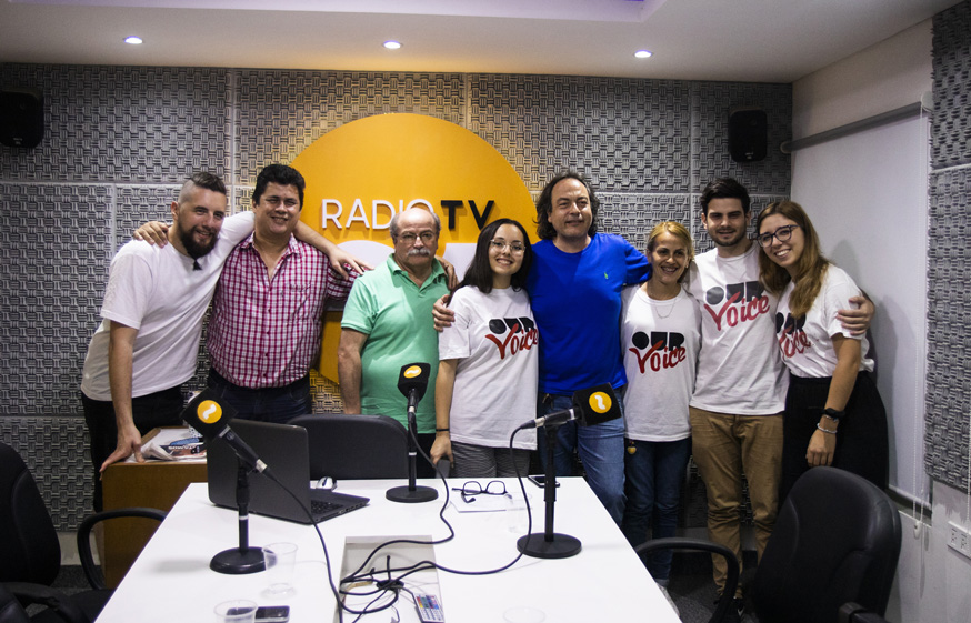 Ampio spazio per Our Voice, a Radio Ñanduti di Asuncion