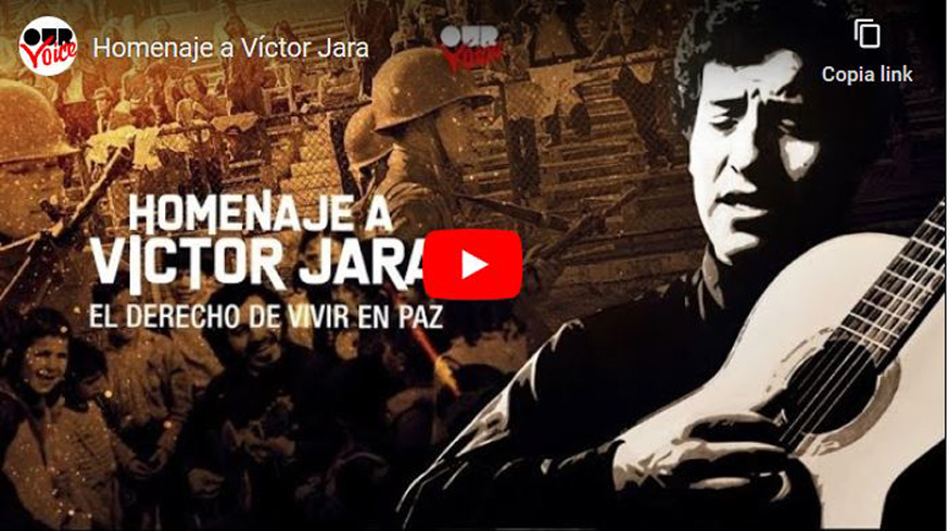 Our Voice commemora Víctor Jara